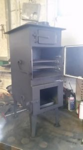 fireweaver wood-burning oven