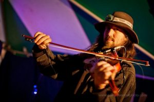 Weirdstring Wall fiddle player